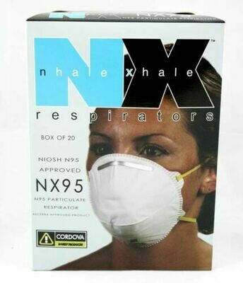 NIOSH N95 Approved Mask -Box of 20-Respirator Face mask Virus