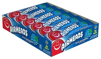 Air Heads Blue Raspberry 36ct