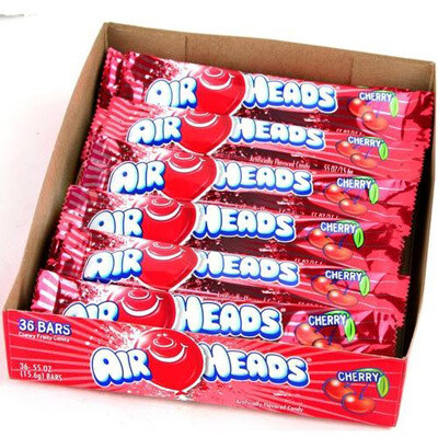 Air Heads Cherry 36ct