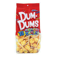 Dum Dums Cream Soda 75ct