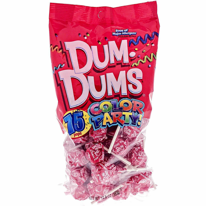 Dum Dums Strawberry 75ct