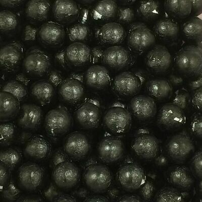 Chocolate Foil Balls Black 2lb