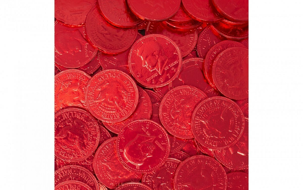 Red Coins 90ct