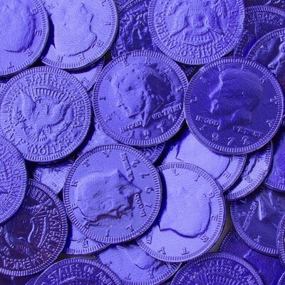 Royal Blue Coins 90ct