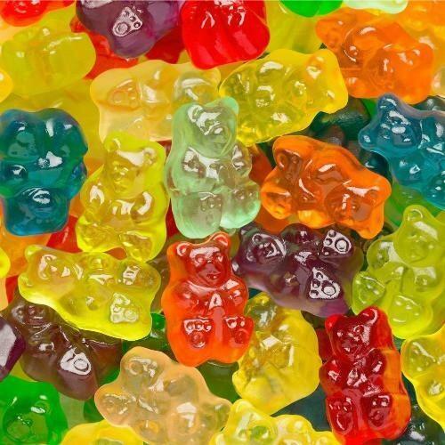 Gummy Bear 12 Flavor 5lb