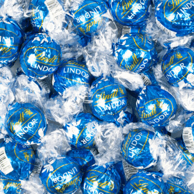 Lindt Milk Choc Sea Salt 60ct
