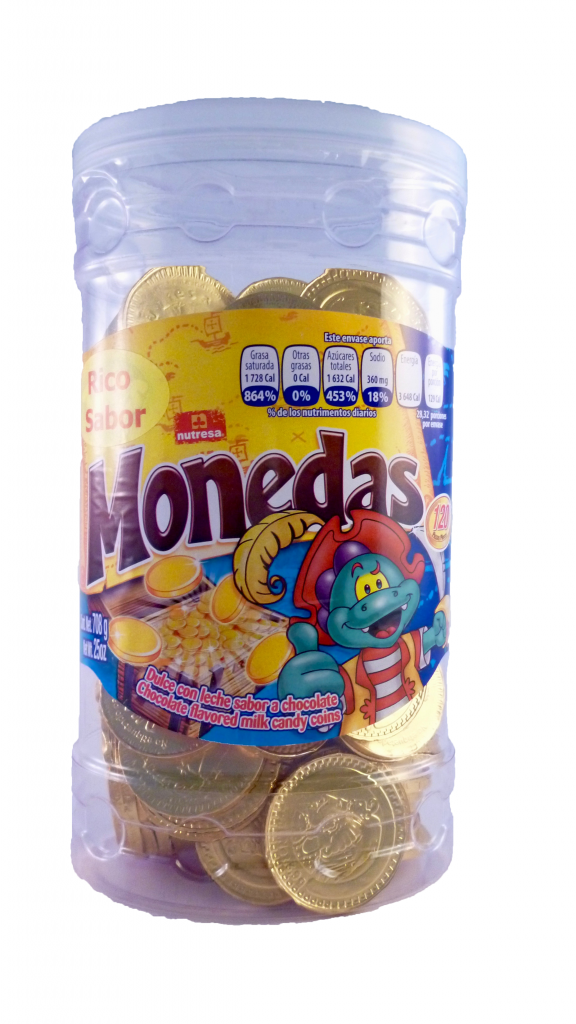 Nutresa Monedas Gold 120ct