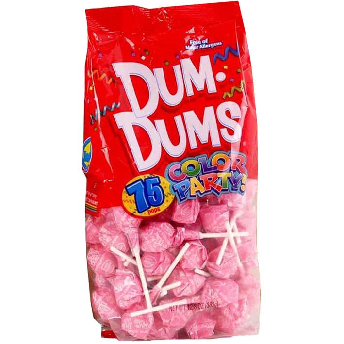 Dum Dums Bubblegum 75ct