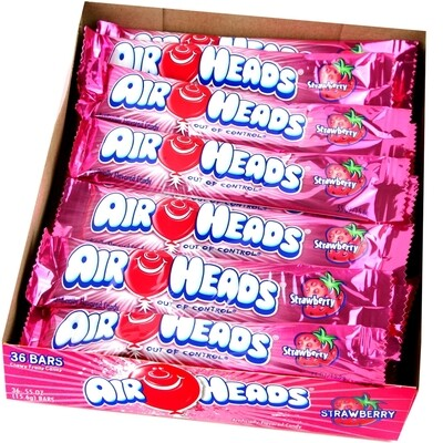 Air Heads Strawberry 36ct