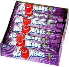 Air Heads Grape 36ct