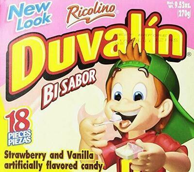 Duvalin Strawberry vanilla 18ct