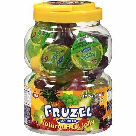 Fruzel Jelly Assorted 38ct