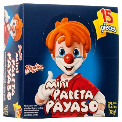 Paleta Payaso 15ct