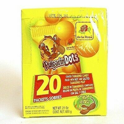 Pulparindo Dots 20ct