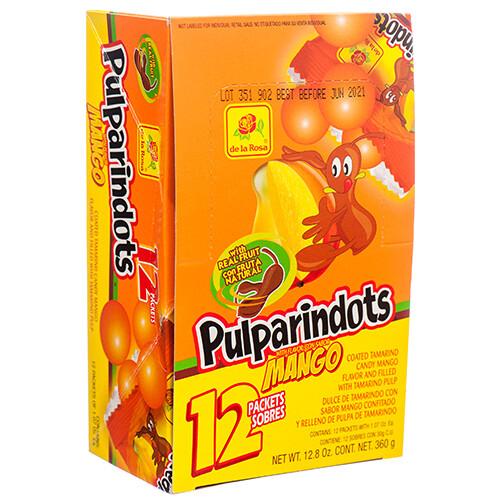 Pulparindo Dots Mango 12ct
