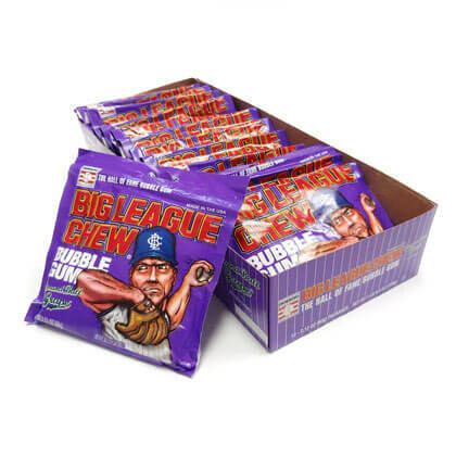 Big league Chew Grape 12ct
