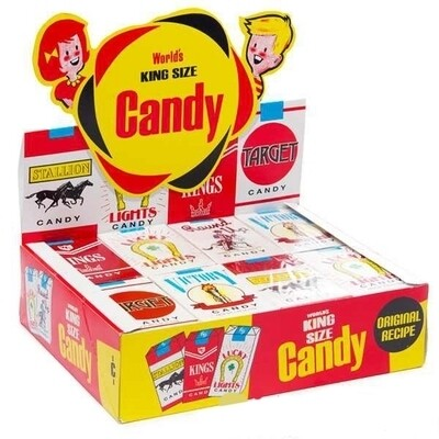 Candy Cigarettes 24ct