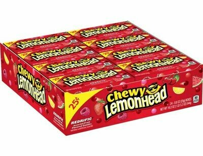 Lemonhead Chewy Redrific Small 24ct