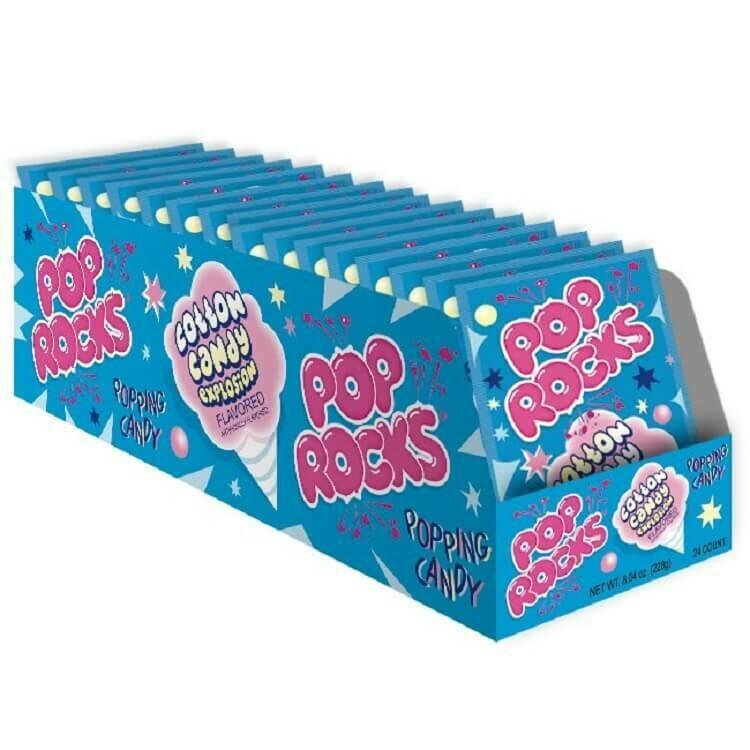 Pop Rocks Cotton Candy 24ct