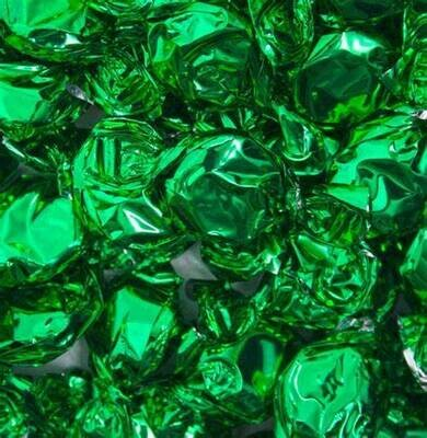 Foil Green Lime Candy 2.5lb