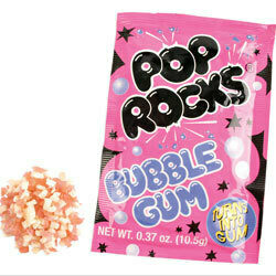 Pop Rocks Bubble Gum 24ct