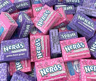 Nerds Grape Strawberry Funsize 12oz
