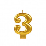 Block Candle Three 1ct