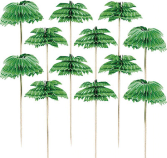 Pick Palm Tree 12ct