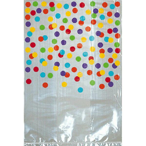Treat Bag Polka Dot Rainbow 24ct