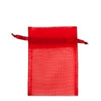 Organza Bag Red 12ct