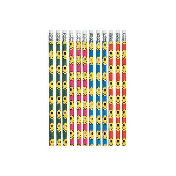 Smile Pencils 12ct