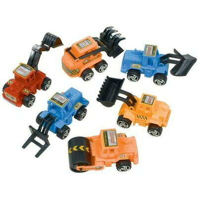 Construction Vehicles 6ct