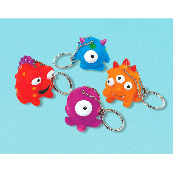 Monster Key Chains 12ct