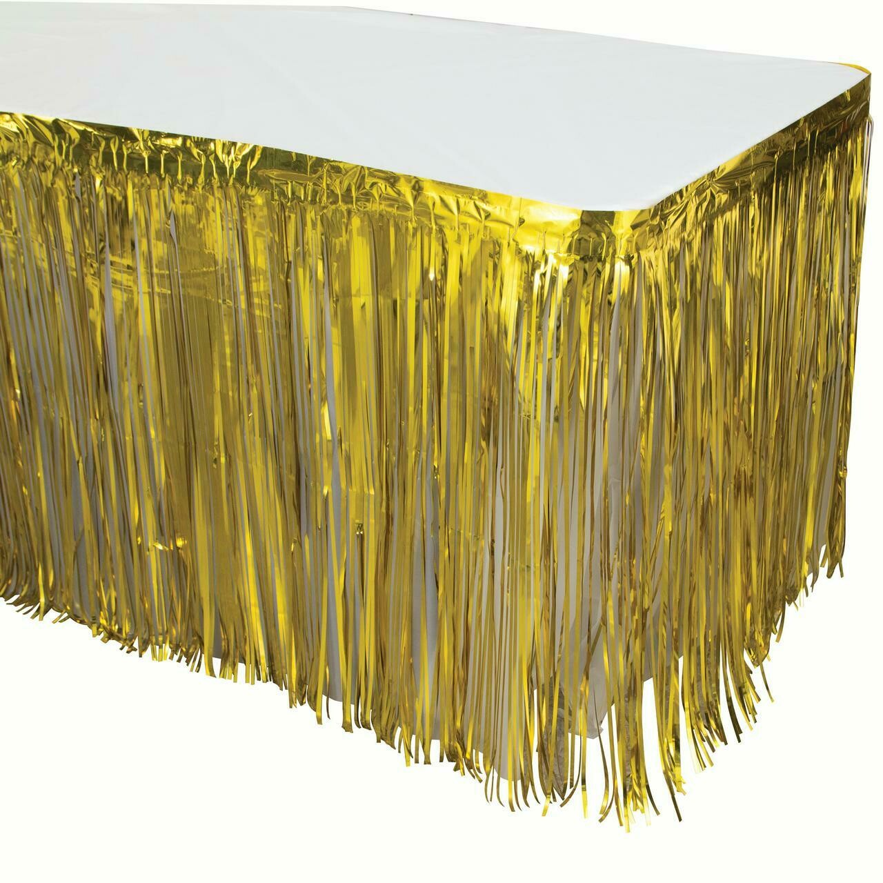 Foil Gold Tableskirt