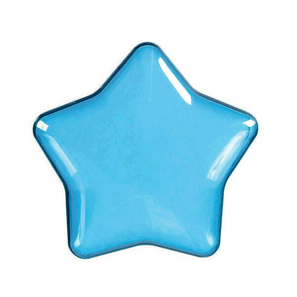 Star Shaped Container Blue 1ct