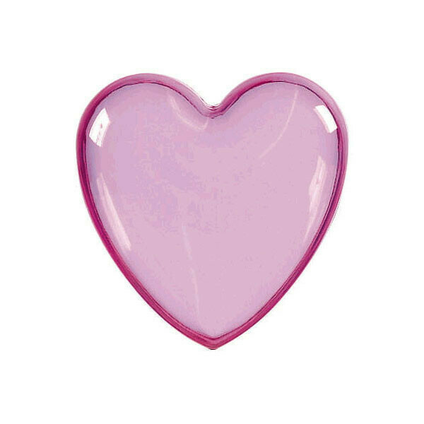 Heart Shaped Container Pink 1ct