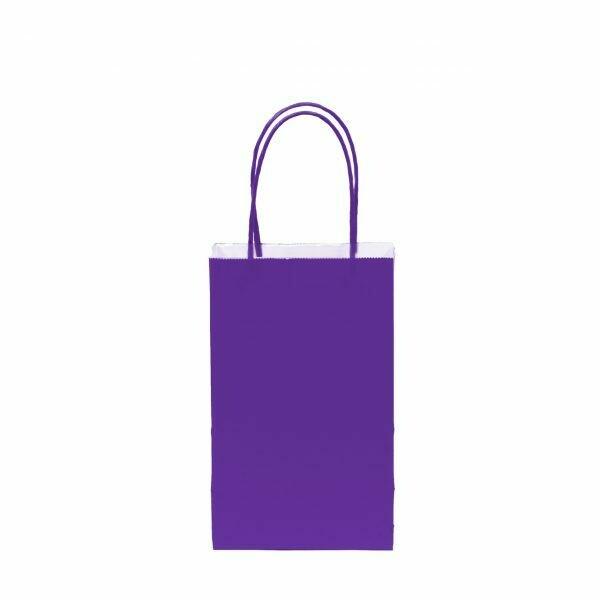 Kraft Bag Purple 12ct
