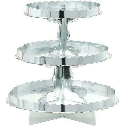 Treat Stand Silver