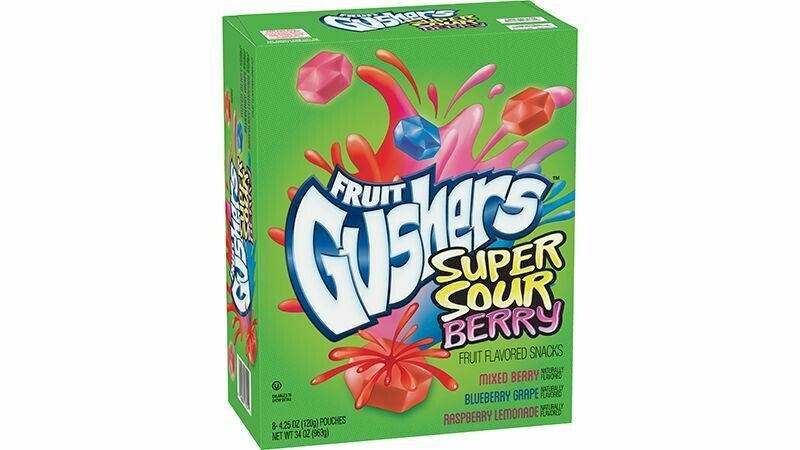 Gushers Sour Berry 34oz