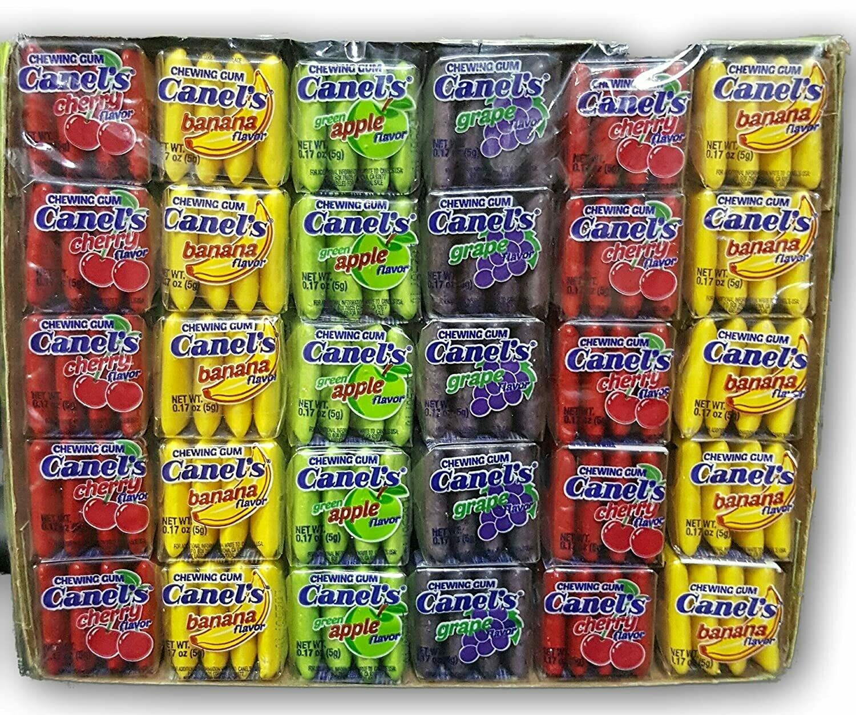 Canels Gum Fruity 60ct