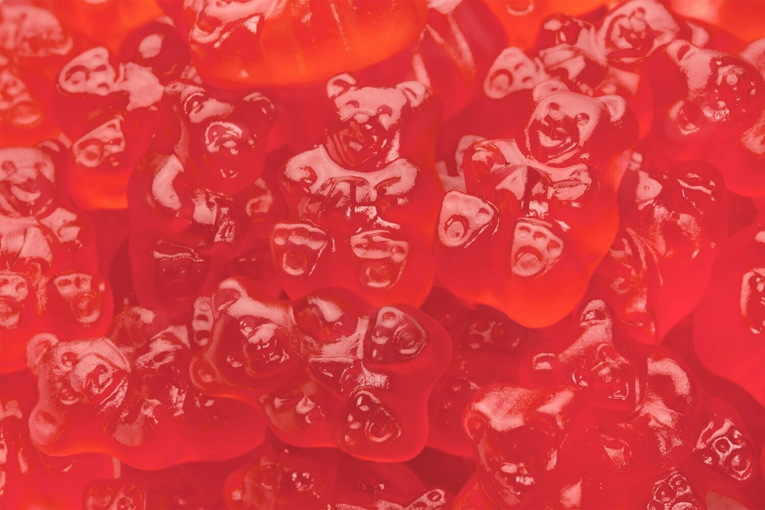 Gummy Bears Strawberry 5lb