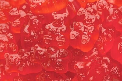Gummy Bears Strawberry 5lb