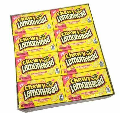 Lemonhead Chewy Pink Lemonade 24ct