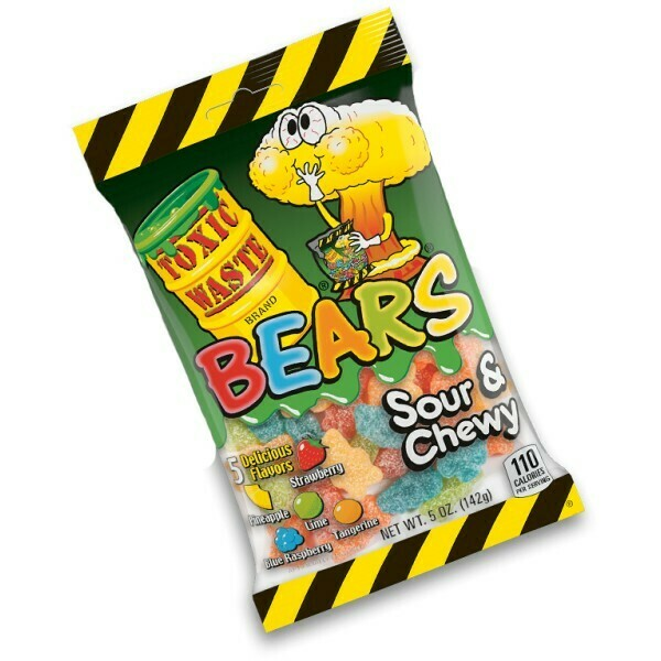 Toxic Waste Chewy Bears 5oz