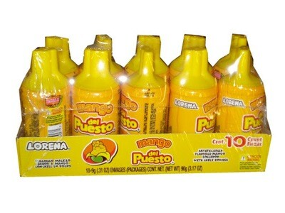 Peloneta Del Puesto Mango 10ct