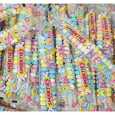 Smarties Candy Necklaces 20ct