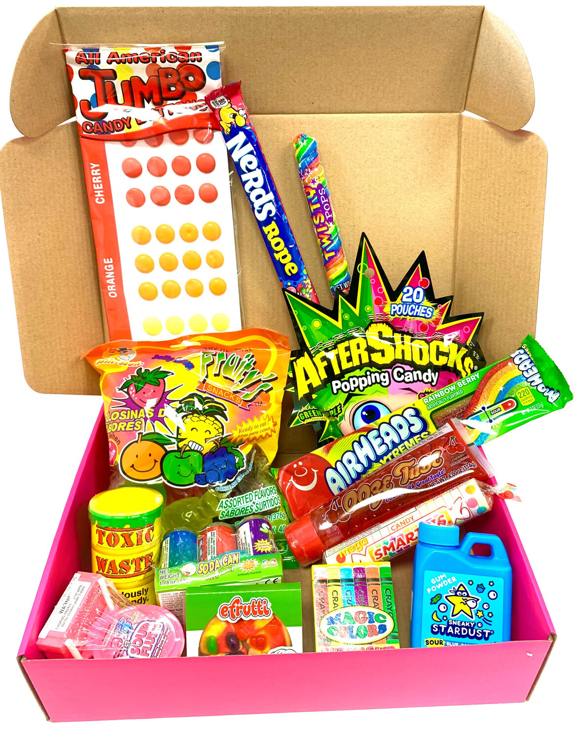 Viral Candy Survival Box