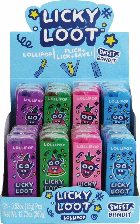 Licky Loot lollipop 24ct