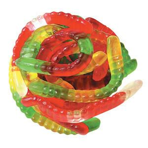 Nassau Gummy Worms 5lb