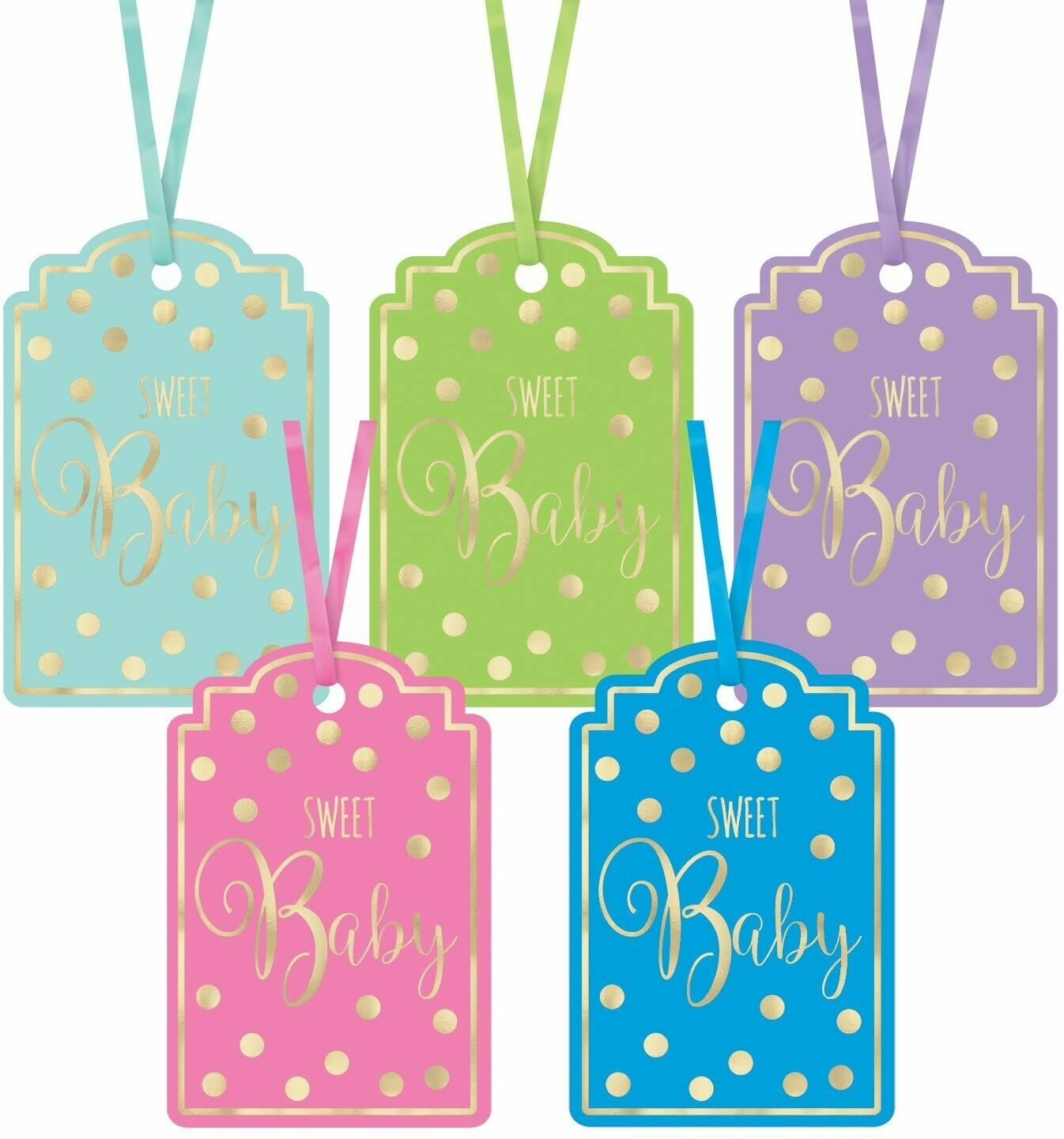 Sweet Baby Tags 25ct